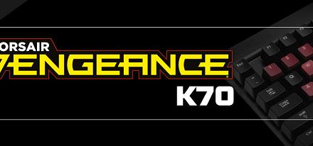 Teclado mecánico para juegos Vengeance K70 de Corsair