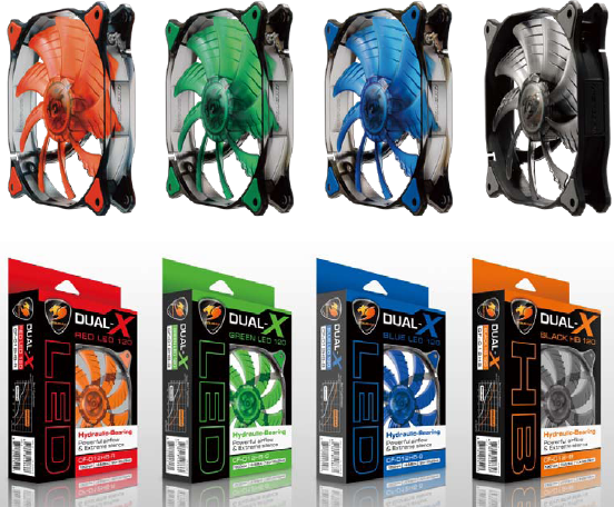 Ventiladores Dual-X de Cougar
