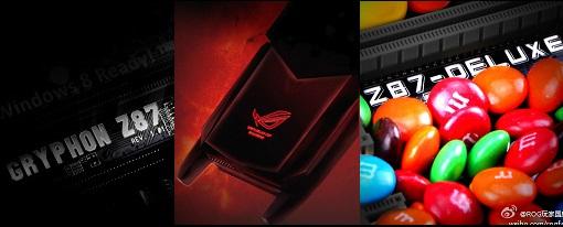 Imágenes teaser de las Gryphon Z87 y Z87 Deluxe de Asus