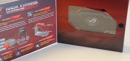 Asus pronto lanzará su SSD PCI-Express ROG RAIDR