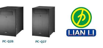 Lian Li presenta sus cases Mini-ITX PC-Q27 & PC-Q28