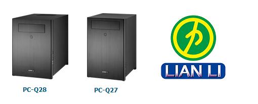 Lian Li presenta sus cases Mini-ITX PC-Q27 & PC-Q28