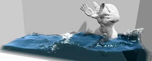 Nvidia muestra un nuevo efecto que hace más realista el fluido del agua