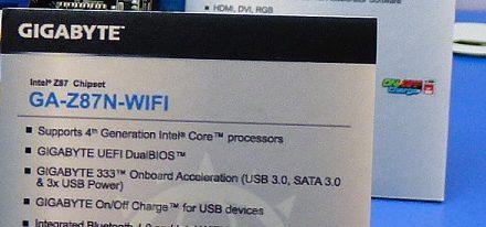 Avistada la tarjeta madre Z87N-WiFi de Gigabyte