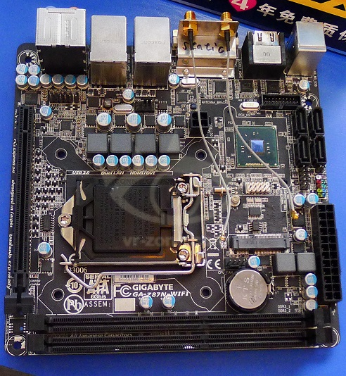 Tarjeta madre Z87N-WiFi de Gigabyte