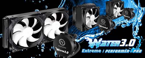 Thermaltake actualiza su sistema de refrigeración líquida con la serie Water 3.0
