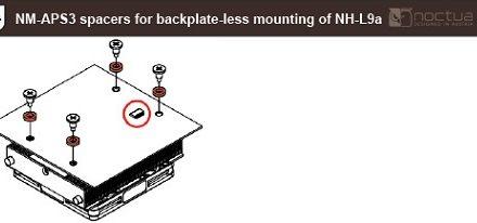 Noctua ofrece gratuitamente una nueva alternativa de montaje para el CPU Cooler NH-L9A