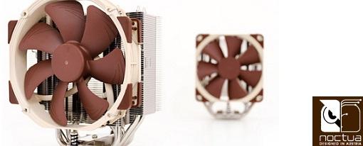 Nuevos CPU Coolers NH-U12S y NH-U14S de Noctua