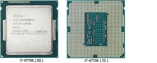 Aparece la primera revisión de un CPU Core i7-4770K 'Haswell' de Intel