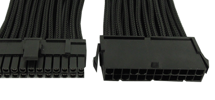 Nuevos Sleeved Power Cable Adapters de Gelid