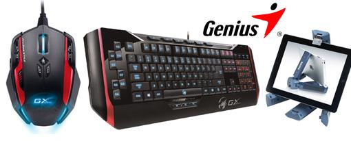 Genius exhibirá los nuevos Periféricos híbridos y la línea GX Gaming en COMPUTEX 2013