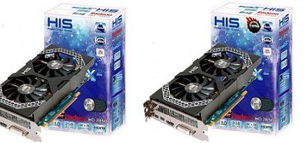 Tarjetas gráficas HD 7850 IceQ X² y HD 7850 IceQ X² Turbo de HIS