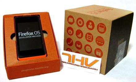 ¡Exclusiva! Tenemos un teléfono Keon con Firefox OS