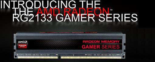 AMD lanza sus kits de memorias Radeon RG2133 Gamer