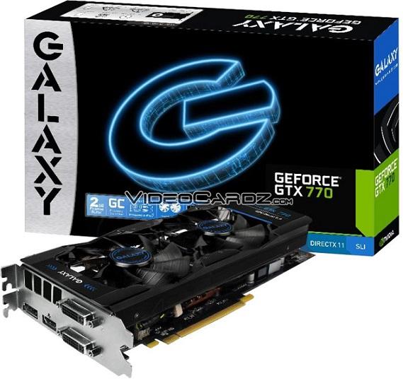 Tarjeta de video GeForce GTX 770 GC 2GB de Galaxy