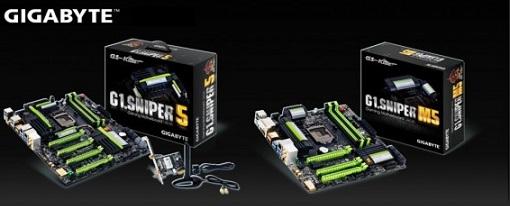 Anunciadas las tarjetas madres Gigabyte G1.Sniper 5 y G1.Sniper M5 de Gigabyte