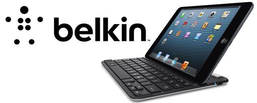 Belkin presenta el teclado FastFit para iPad Mini