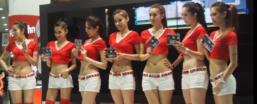 Computex 2013 – Booth Babes