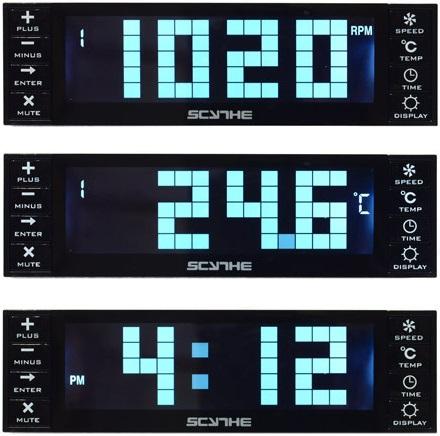 Controlador para ventiladores Kaze Chrono de Scythe