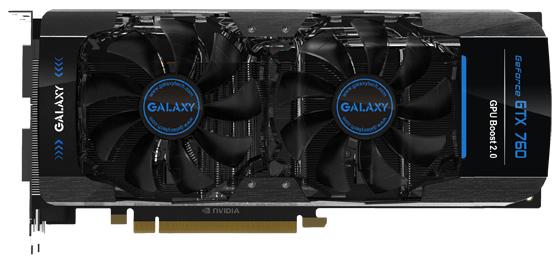 GeForce GTX 760 de Galaxy