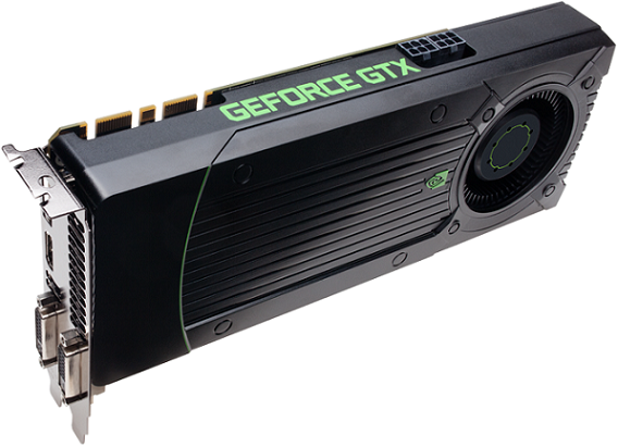 Tarjeta grafica GeForce GTX 760