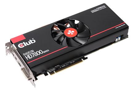 Radeon HD7800 Series de Club 3D