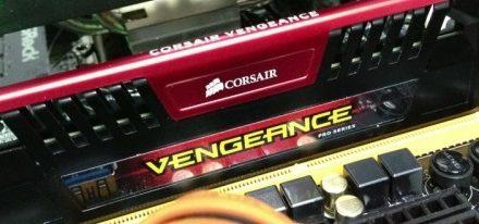 Memoria DDR3 Vengeance Pro llevada con overclock hasta los 4290 MHz