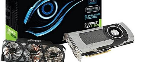 Gigabyte anuncia la GeForce GTX TITAN OC con el refrigerador WindForce 3X 450W