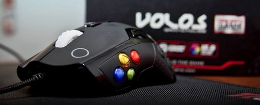 Nuevo ratón para juegos MOBA / MMORPG 'VOLOS' de Tt eSports