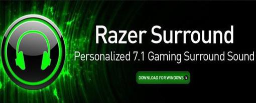 Razer Surround: 7.1 Gratis para todos