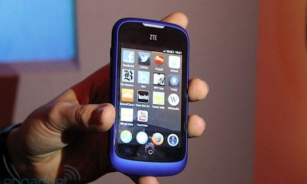 ZTE Open con FirefoxOS ya disponible