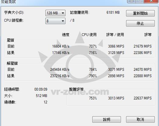 7-Zip - Intel core i7 4771