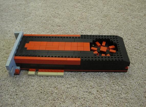AMD Radeon HD 7970 - Lego