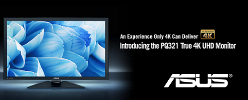 Asus anuncia el primer monitor 4K UHD
