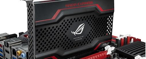 Asus presenta su SSD ROG RAIDR Express