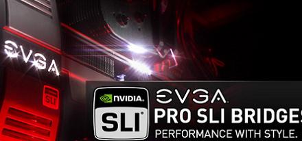 EVGA lanza sus Pro SLI Bridges