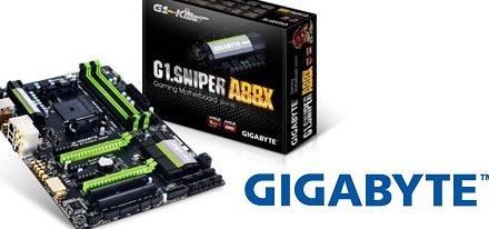 Gigabyte presenta su tarjeta madre gaming G1.Sniper A88X