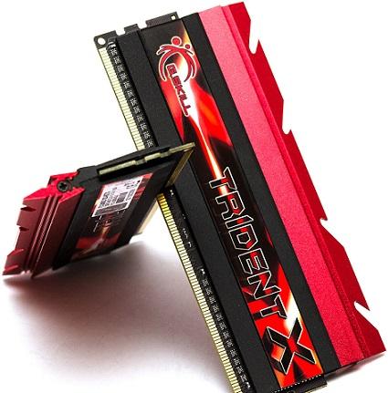 Memrias DDR3 TridentX de G.Skill
