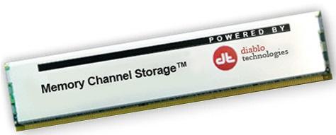 Memory Channel Storage (MCS) de Diablo Technologies