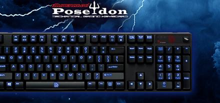 Teclado mecánico retroiluminado Poseidon de Tt eSports
