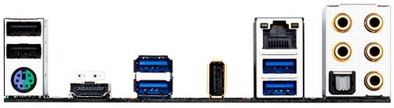 Tarjeta madre H81.AMP-UP de Gigabyte