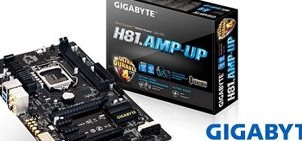 Gigabyte incorpora el mejor audio a su tarjeta madre H81.AMP-UP