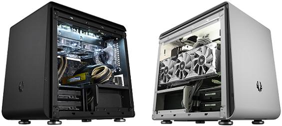 Case Phenom Mini-ITX Black y White