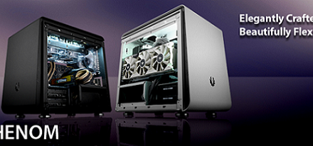 Cases Phenom Mini-ITX y Phenom Micro-ATX de BitFenix