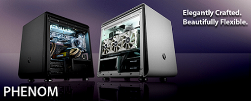 Cases Phenom Mini-ITX y Phenom Micro-ATX de BitFenix