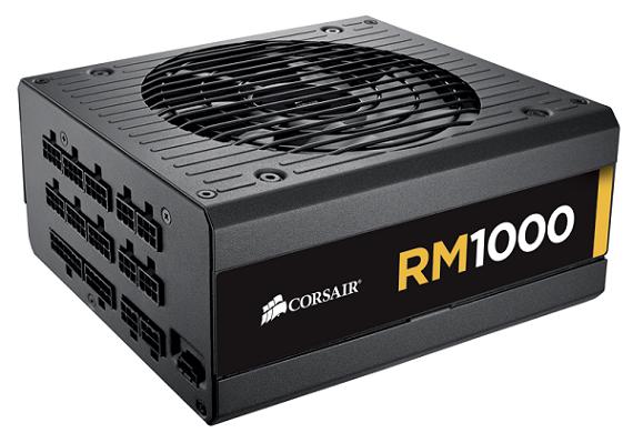 Fuente de poder RM 1000 de Corsair
