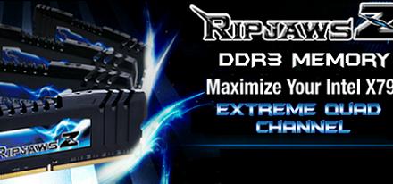 G.Skill expande su familia de memorias DDR3 RipjawsZ