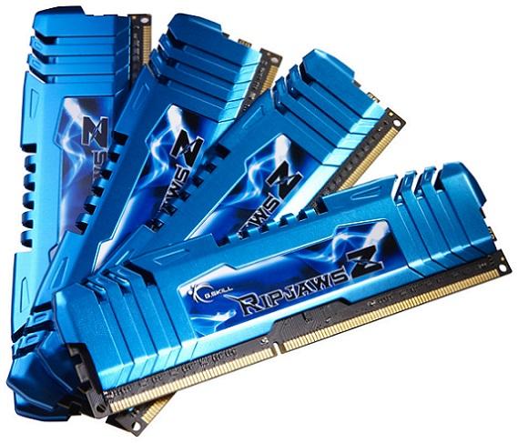 Memorias DDR3 RipjawsZ Quad Channel de G.Skill