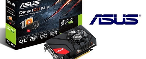 Asus anuncia su GeForce GTX 760 DirectCU Mini de 2GB