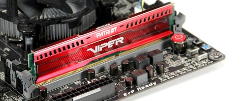 Memorias DDR3 Viper 3 Low Profile de Patriot